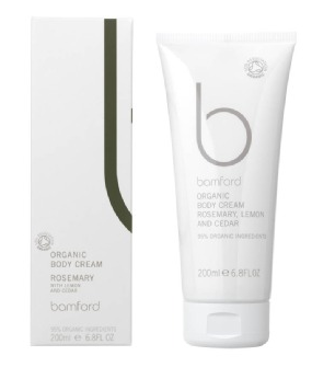 Bamford Body Organic Body Cream – Rosemary with Lemon & Cedar