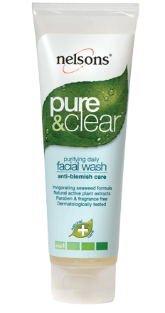 Nelson's Pure & Clear Purifying Facial Wash