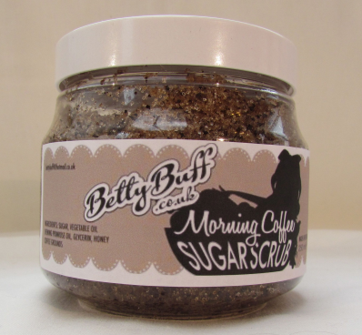 Betty Buff Morning Coffee Sugar Scrub