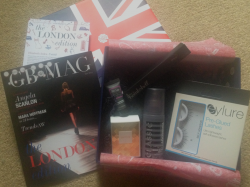 September Glossybox - London Edition