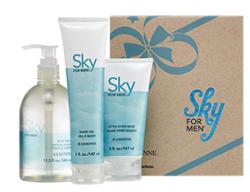 Arbonne Sky for Men Gift Set