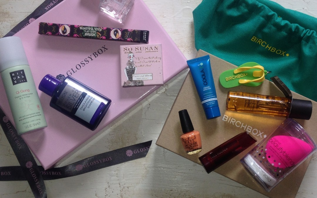 Birchbox vs Glossybox – June 2014