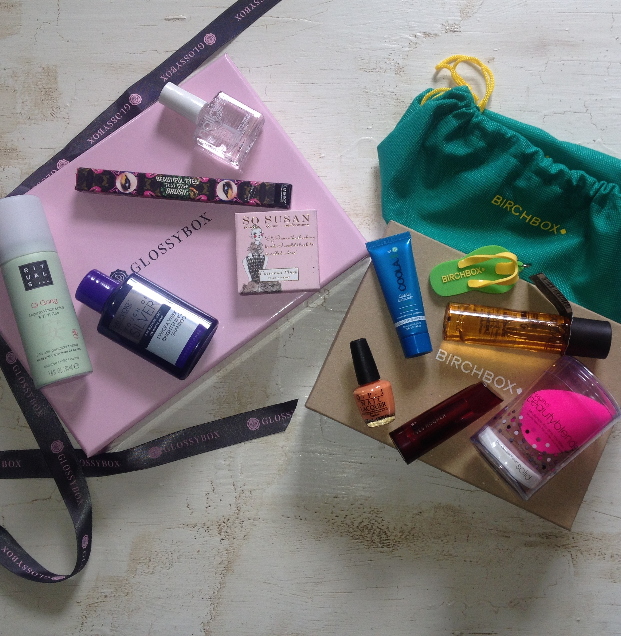 Birchbox & Glossybox - June 2014