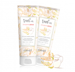 Enesti Rice & Milk Foaming Cleanser