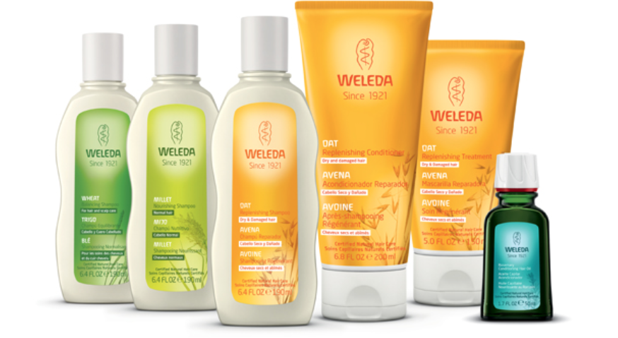 Weleda Hairecare Range