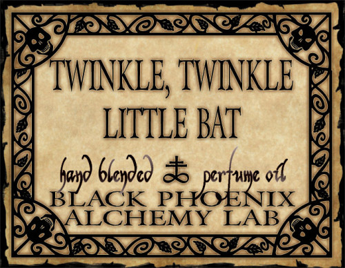Twinkle, Twinkle Little Bat Perfume Oil